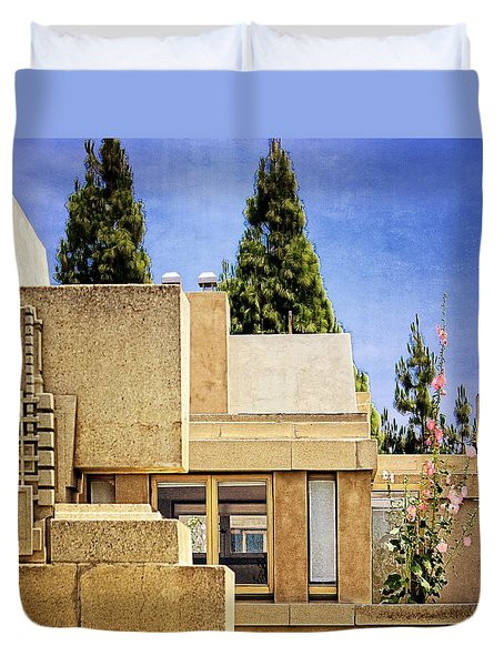 Hollyhock House Duvet Cover
