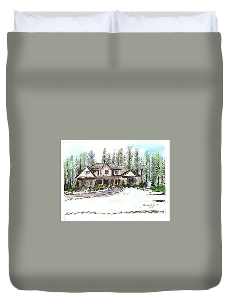 Holly's Place Duvet Cover