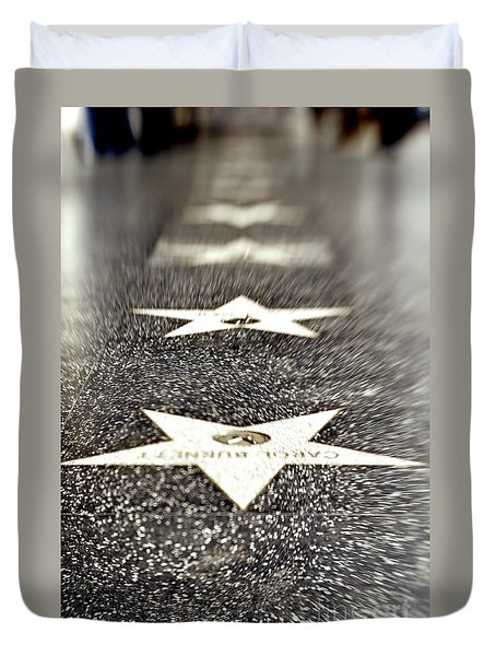 Hollywood Blvd California 19 Duvet Cover
