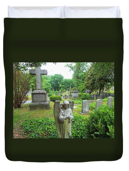 Hollywood Cemetery Duvet Cover