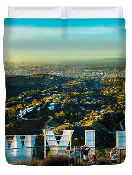 Hollywood Dreaming Duvet Cover