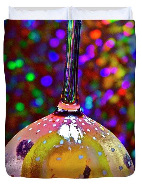Holographic Fruit Drop Duvet Cover