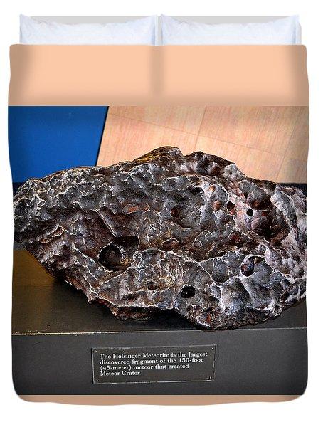 Holsinger Meteorite 001 Duvet Cover by George Bostian