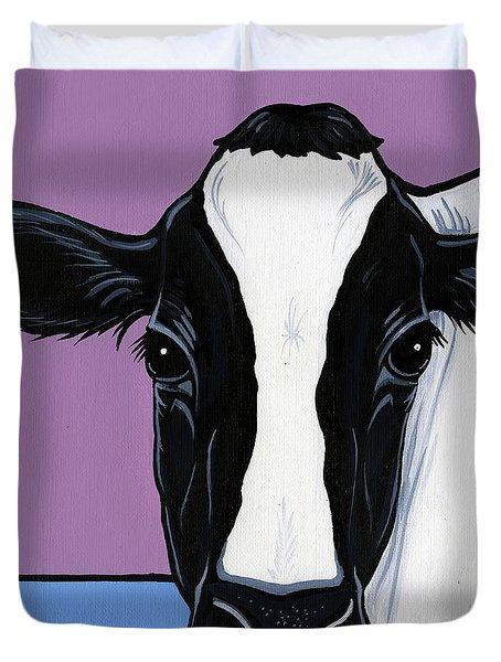 Holstein Duvet Cover by Leanne Wilkes