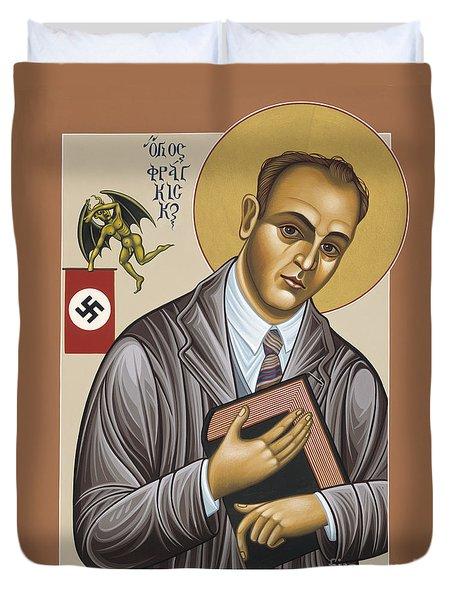 Holy Blessed Martyr Franz Jagerstatter 049 Duvet Cover