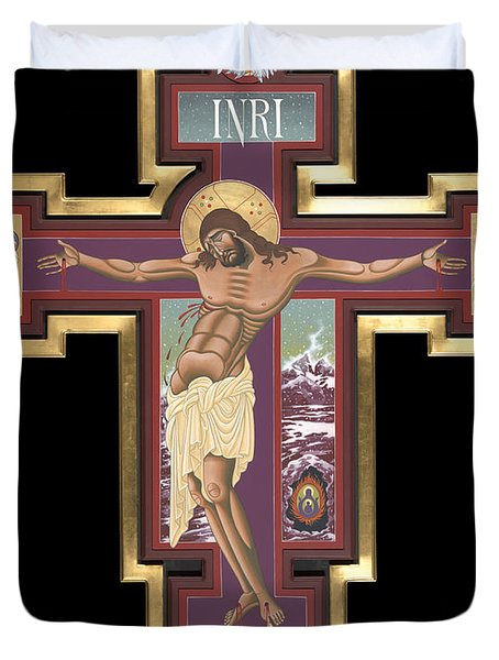 Holy Cross Of The New Advent 162 Duvet Cover