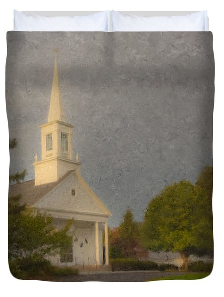 Holy Cross Parish Church Duvet Cover
