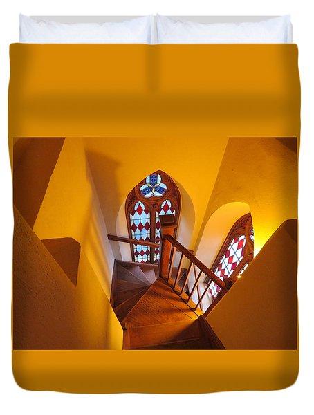 Holy Cross Staircase Duvet Cover