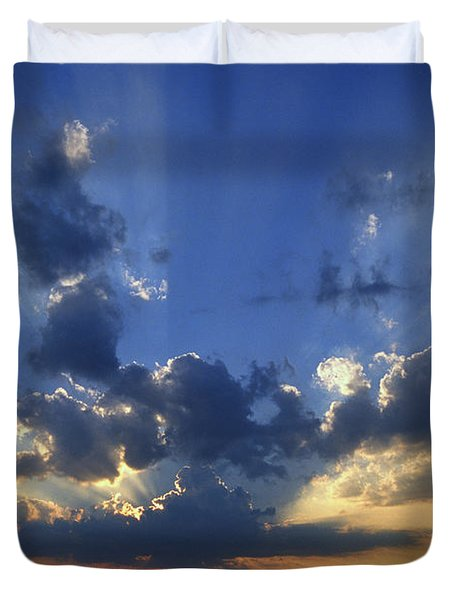 Holy Grail - Lake Geneva Wisconsin Duvet Cover