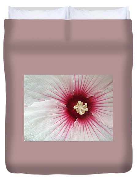 Holy Hibiscus Duvet Cover by Emerald GreenForest