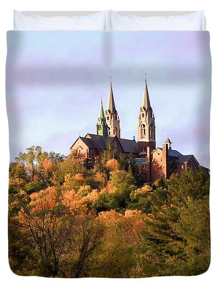 Holy Hill Basilica, National Shrine Of Mary Duvet Cover