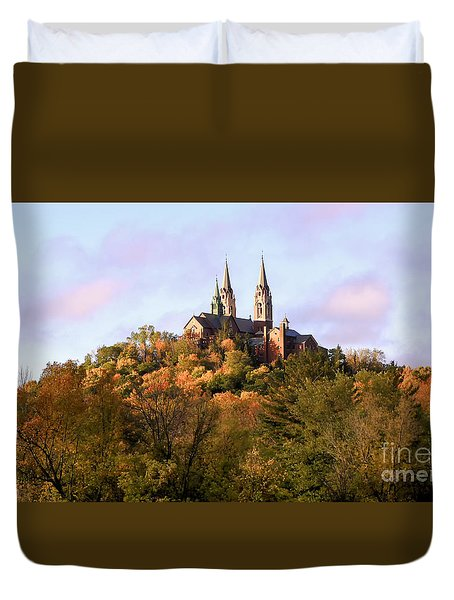 Holy Hill Basilica, National Shrine Of Mary Duvet Cover