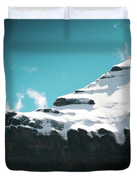 Holy Kailas Fragment Himalayas Tibet Yantra.lv Duvet Cover