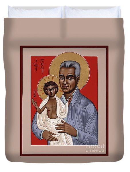 Holy New Martyr Rutilio Grande 050 Duvet Cover