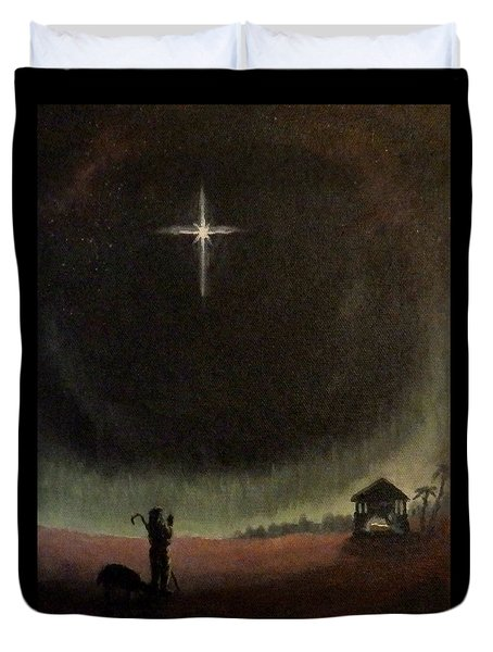 Holy Night Duvet Cover by Dan Wagner