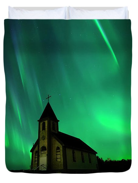 Holy Places Duvet Cover
