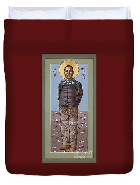 Holy Prophet Benjamin Salmon 083 Duvet Cover