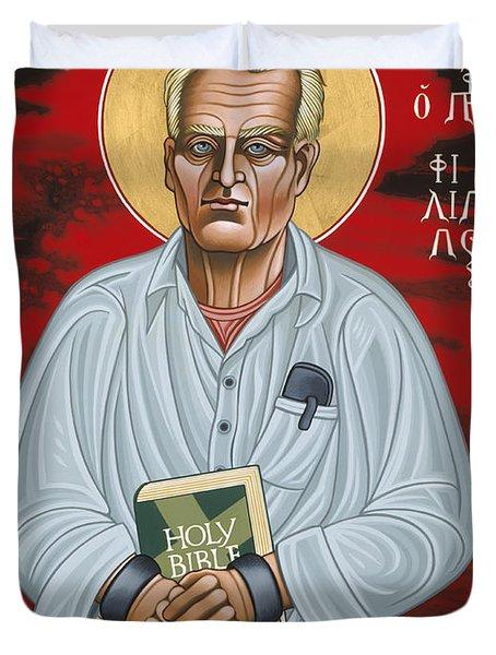 Holy Prophet Philip Berrigan 125 Duvet Cover