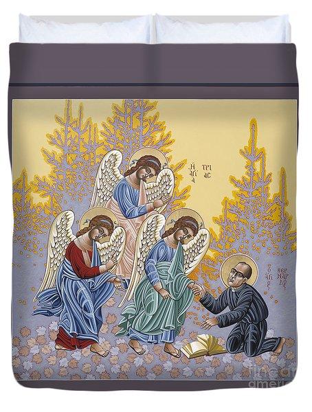 Holy Theologian Bernard Lonergan 122 Duvet Cover