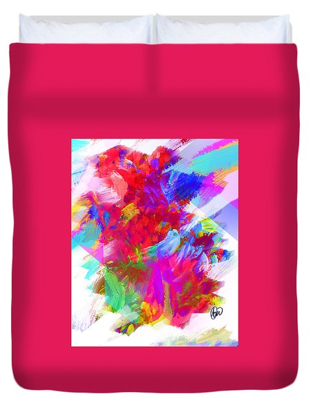 Holy Town Duvet Cover