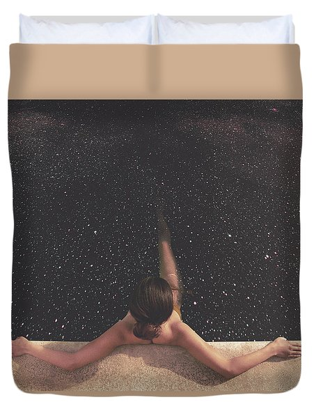 Holynight Duvet Cover by Fran Rodriguez