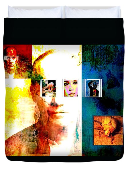 Homage To Richard Prince Duvet Cover