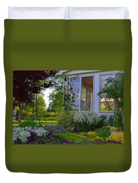 Home Garden Duvet Cover