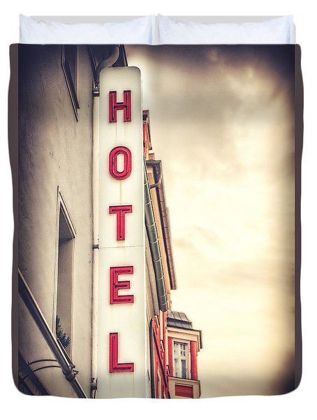Home Is Home Duvet Cover