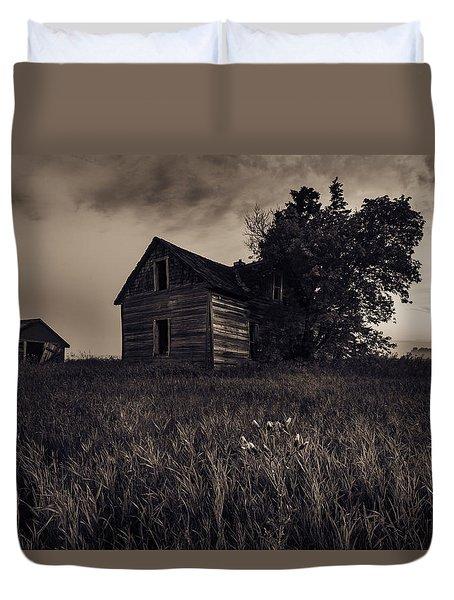 Home No More Duvet Cover