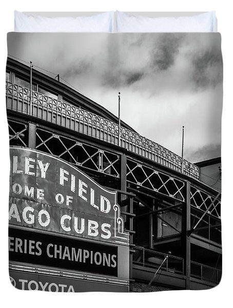 Home Of Chicago Cubs Duvet Cover