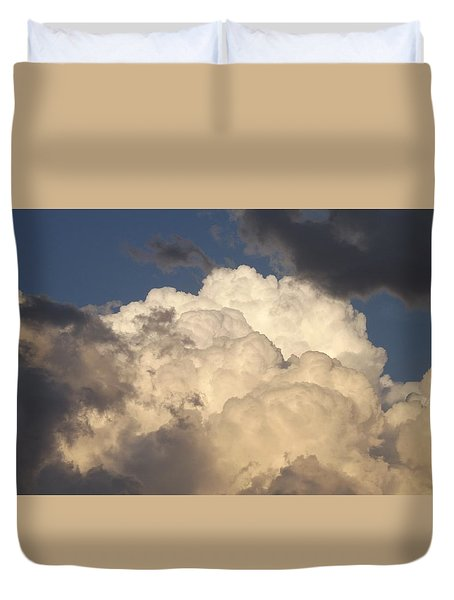 Home Of The Gods Duvet Cover