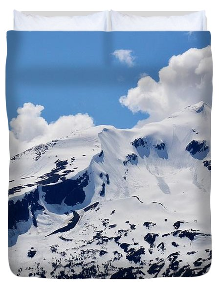 Home Of The North Wind - Skagway Duvet Cover