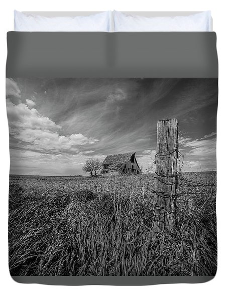 Home On The Range  Duvet Cover by Aaron J Groen