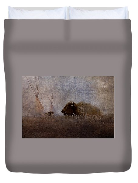 Home On The Range Duvet Cover by Ron Jones