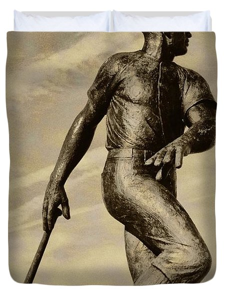 Home Run Duvet Cover by Bill Cannon