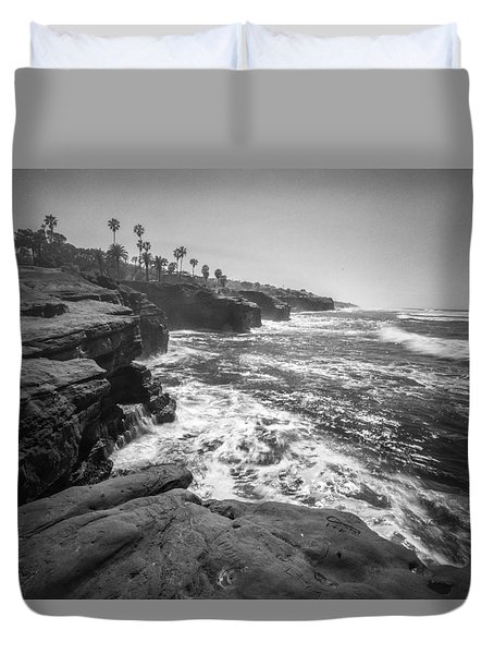 Duvet Cover featuring the photograph Home by Ryan Weddle