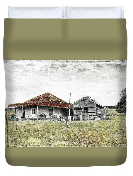 Home Sweet Home 001 Duvet Cover by Kevin Chippindall
