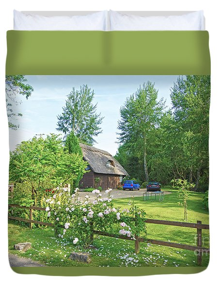 Home Sweet Home Duvet Cover by Andrew Middleton