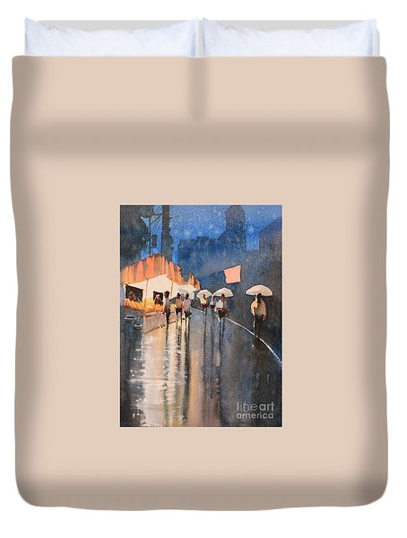 Home Time Duvet Cover by Gareth Naylor