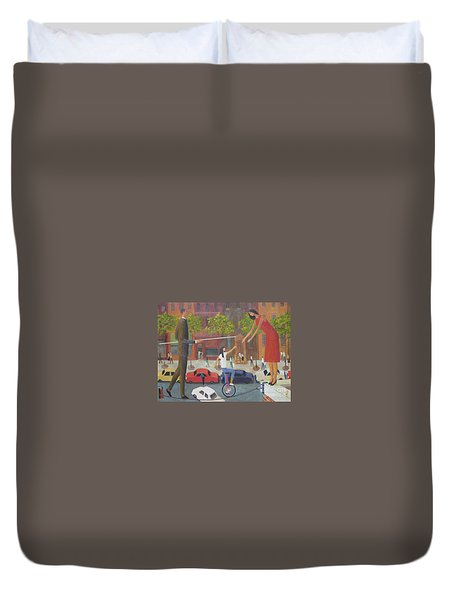Homecoming Duvet Cover by Glenn Quist