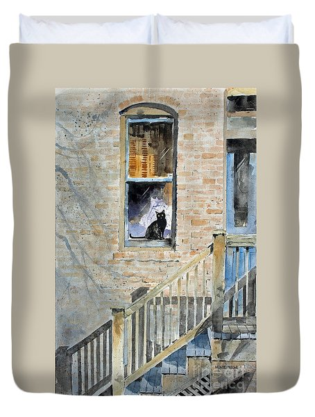 Homecoming Duvet Cover by Monte Toon