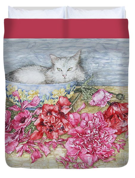 Homely Duvet Cover by Kim Tran