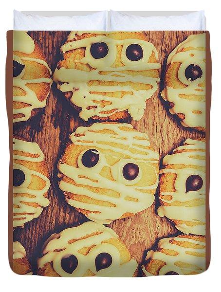 Homemade Mummy Cookies Duvet Cover