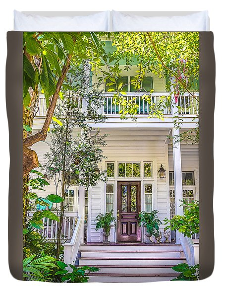 Homes Of Key West 4 Duvet Cover