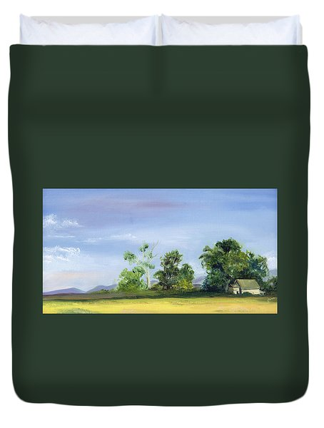 Homestead Duvet Cover by Jane Autry