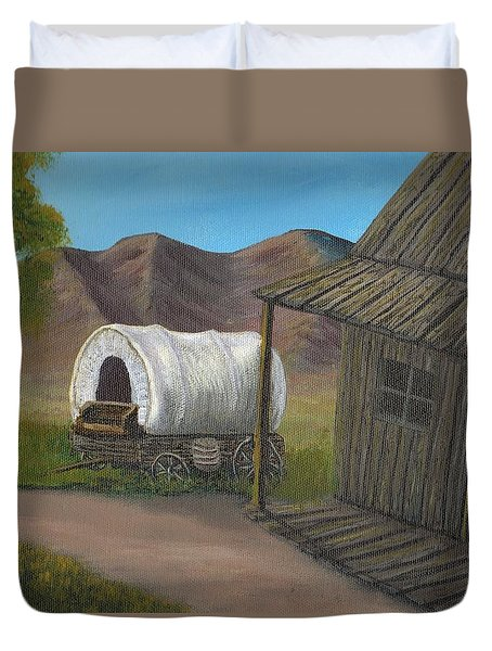 Homestead Duvet Cover by Sheri Keith