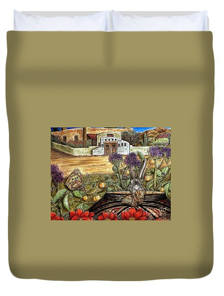 Homesteading Duvet Cover