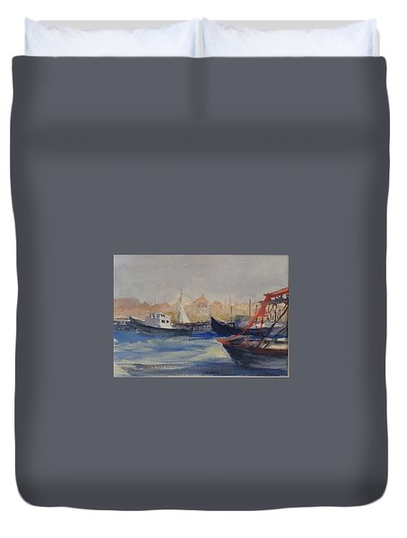 Homeward Bound Duvet Cover by Heidi Patricio-Nadon