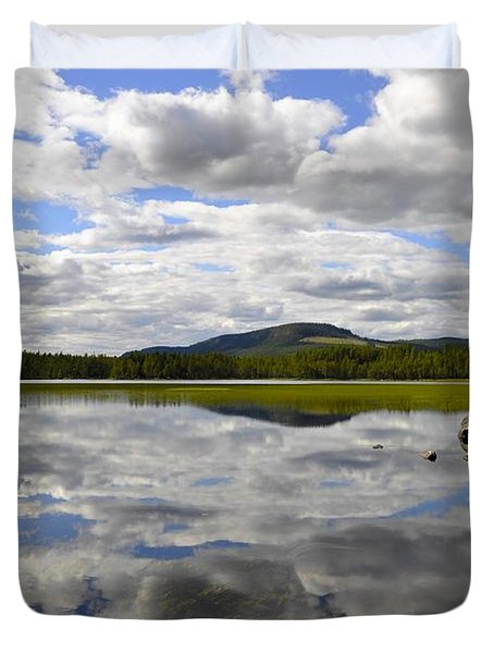 Hon Lake Duvet Cover