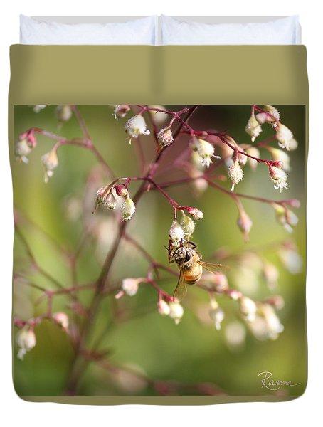Honey Acrobat Duvet Cover
